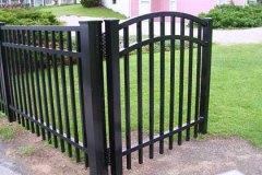 Aluminum-Black-Commercial-Grade-202-Style-with-Arched-Gate_07