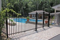 Aluminum-Black-Pool-Code-5-High-Coventry-with-Arched-Double-Drive-Gate_07