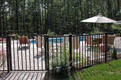 Aluminum-Black-Pool-Code-Sentry-with-Arched-Gate_02