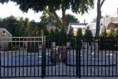 Aluminum-Black-3-Rail-Canterbury-Style-with-Arched-Gate_03