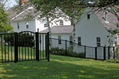 Aluminum-Black-Sentry-with-Arched-Gate_06