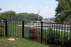 Aluminum-Black-Sentry-with-Arched-Gate_14
