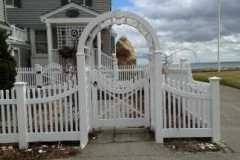 Vinyl-Victorian-Spaced-Picket-with-New-England-Arbor-with-Custom-Gate-and-Arched-Wings_01